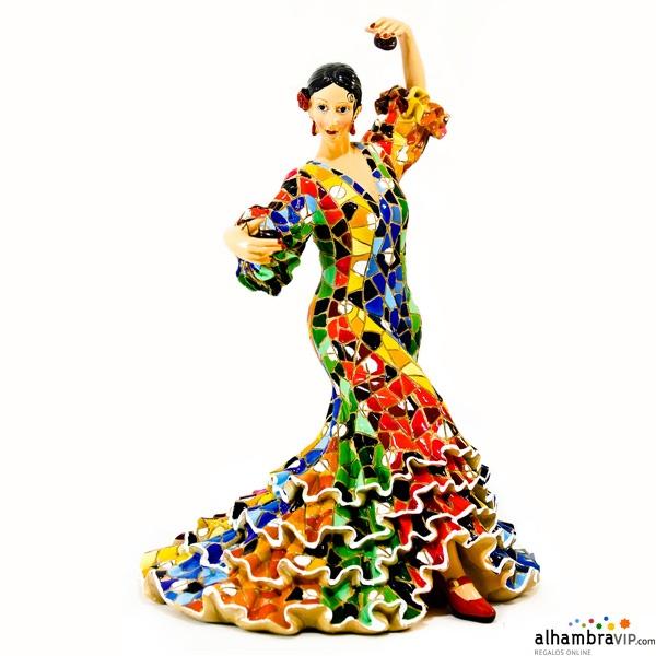 Flamenca traje Mosaico