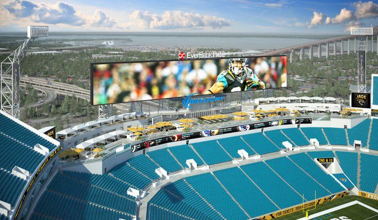 Construction underway for EverBank Field enhancements (Jacksonville Jaguars)