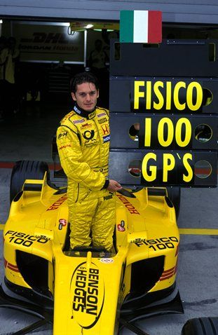 Giancarlo Fisichella back at Jordan for 2002
