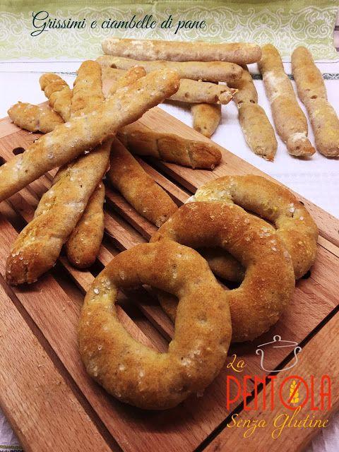 La pentola senza glutine: Grissini e ciambelle di pane