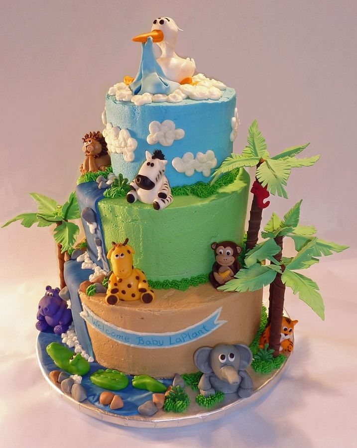 themes baby shower cakes shower ideas jungle baby showers animal baby