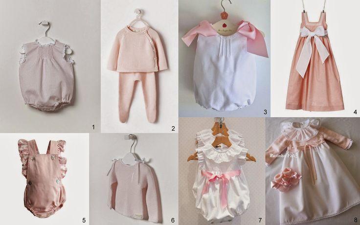 A pensar nos bebés... 1 - Ma Petite Princesse | 2 - Zara | 3 - Tic Tac Babies | 4 - Piupiuchick | 5 - Maria Concha | 6 - Ma Petite Princesse | 7 - Loja Maria Bebé | 8 - Ratinho Feliz