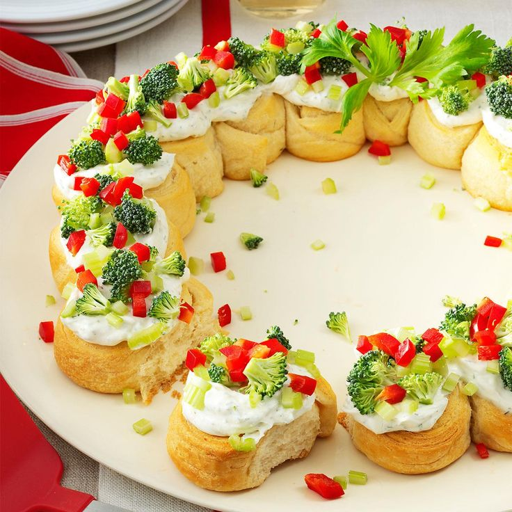 1240 best amazing appetizers images on pinterest african braids appetizer wreath holiday ideasholiday recipesholiday craftschristmas forumfinder Gallery