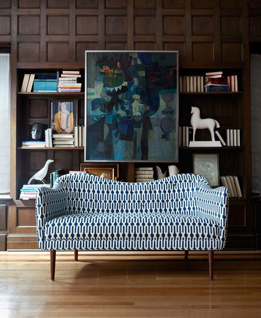 The Markham Sofa by Mr. Brown London.