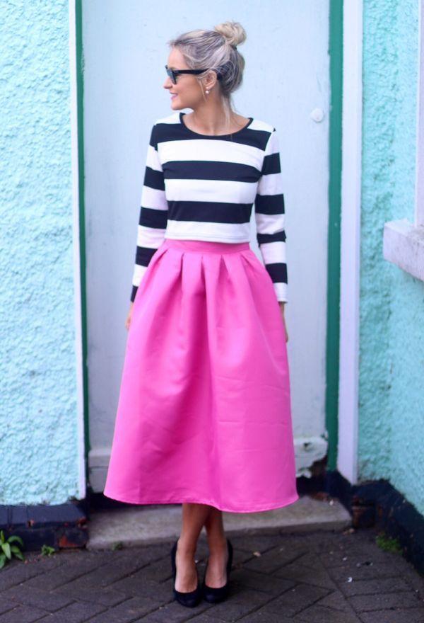 Zapatos para faldas largas | Calzado y faldas de moda