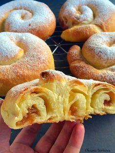 "Кулинарные моменты: Испанские булочки ""Ensaimadas"""