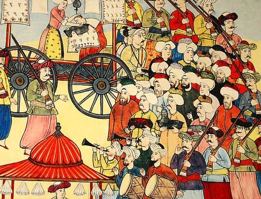 an essay on the janissaries in the army of the ottoman empire The janissaries of the ottoman/turkish empire the janissaries was an elite corp in the standing army of the ottoman empire from the late 14th century to 1826 highly respected for their military prowess in the 15th and 16th centuries, the janissaries became a powerful force to be reckoned with on the battlefield, and in government .