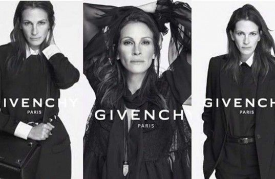 Julia Roberts, nouvelle égérie de Givenchy http://journalduluxe.fr/julia-roberts-givenchy/