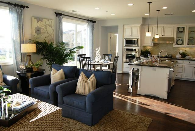 52 best kitchen living room combo images on Pinterest ...