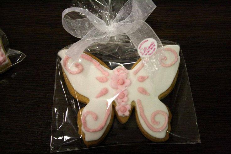 volare sulle ali della farfalla Sweet gift & cookies di http://www.simocakedesigner.it