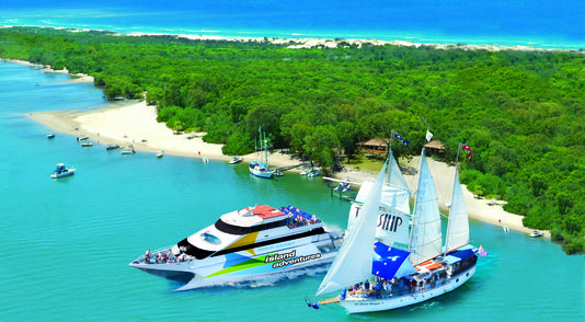 Island Adventures to Wave Break Island  Book now http://ticketsandtours.com.au/travel/gold-coast-adventures/