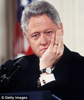THE IMPEACHED PRESIDENT HILLARY SOMEHOW FORGOT TO MENTION IN HER SPEECH... BILL Hillary Clinton suggested - slightly misleadingly - that Richard Nixon was impeached. In fact the process began, but the articles of impeachment were never voted on because of his resignation.