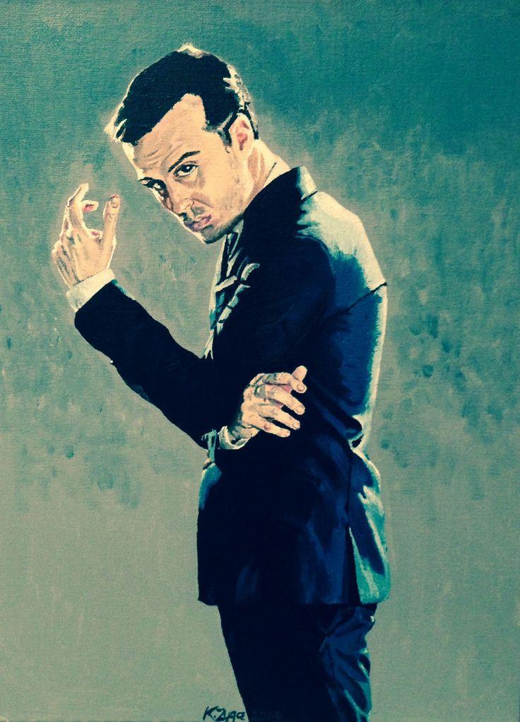 Jim Moriarty (BBC Sherlock) - by Karina Zyga (Vistingri)