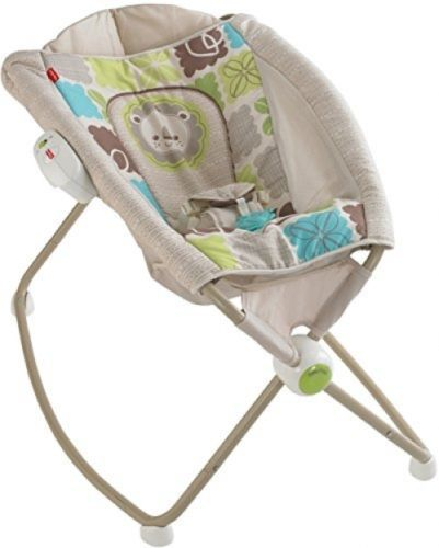 Fisher-Price Newborn Rock 'n Play Baby Sleeper Rocker Cradle Rainforest Friends