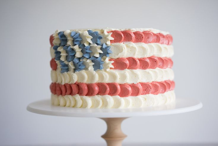 Best 25 petal cake ideas on pinterest colorful birthday for American flag cake decoration