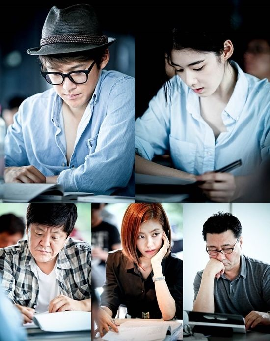 """Upcoming Drama """"Doctor Frost"""" Holds Its First Script Reading with Song Chang Ui and Jung Eun Chae Among Others"""