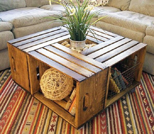 15 Easy Ways to Repurpose Wooden Crates via Brit + Co.