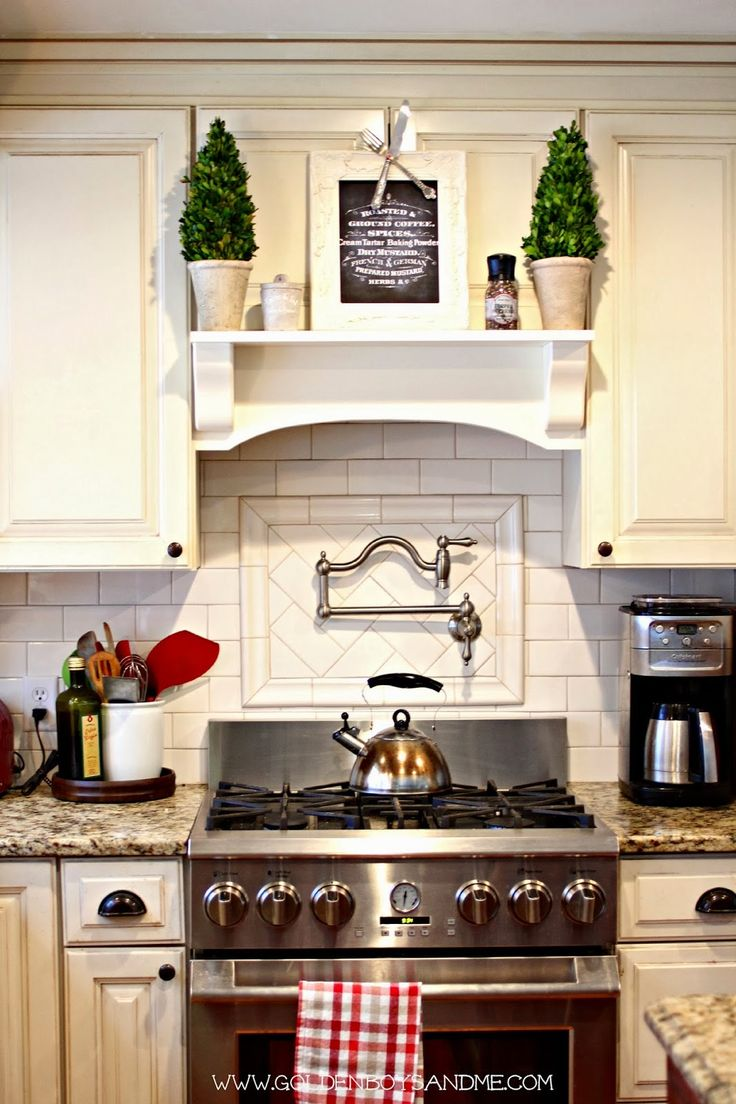 Golden Boys And Me: Summer Home Tour. DIY Mantel With Built In Exhaust Fan