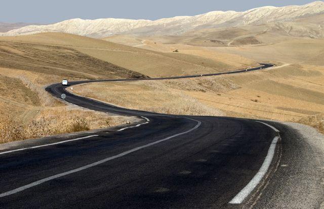 Road - , Western Sahara- Western Sahara