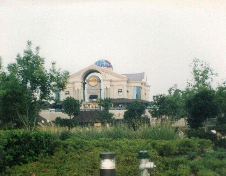 Hard Rock Cafe Orlando 1990 Or 1992 Old Universal
