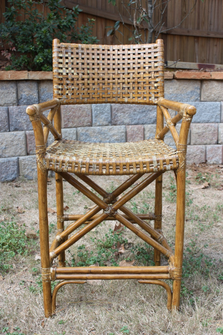 Vintage Wicker Chair By