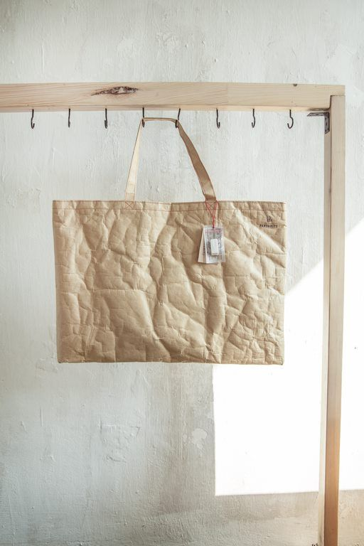 Classic 'shoping bag' is made of a double layer of durable and waterproof woven paper. The bag is roomy. It is suitable for an institution, to work, to the gym or recreational exit. Amazingly in this bag it is always easy to find something. #pandamito