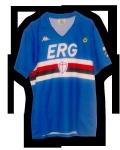 La Maglia della Sampdoria stagione 1989/90