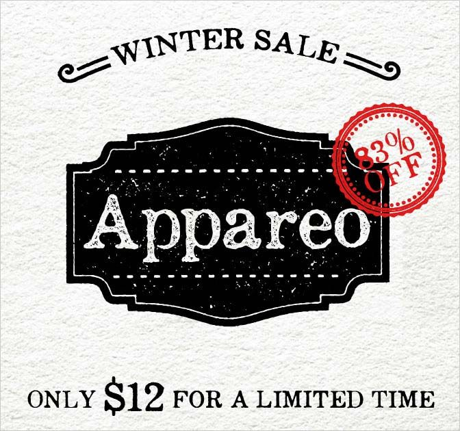 Appareo Font Family - Vintage, Weathered Typeface - only $12! - MightyDeals