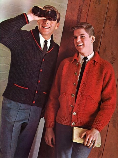 AHHAHWHEIAWEHAE OMG!! Those sweaters!! WHY DON'T MEN DRESS LIKE THIS ANYMORE