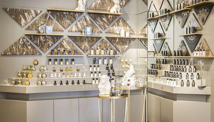 AVERY Perfume Gallery opens at Printemps Haussmann in Paris