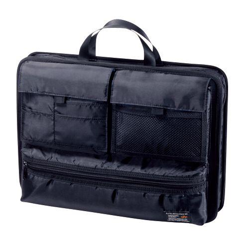 PC対応バッグインバッグ