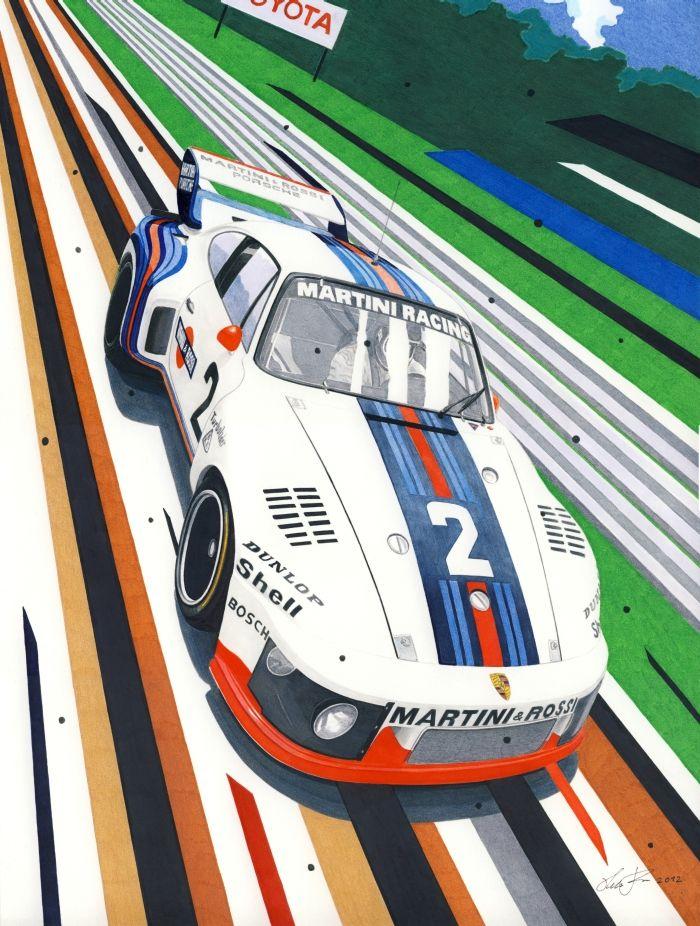 Porsche 935-76 by ~klem on deviantART
