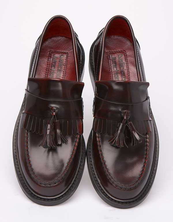 In stock now at the shop.. the coolest loafers ! Delicious Junction Rudeboy on Oxblood http://scootssuitsandboots.com/delicious-junction-loafer-rude-boy-oxblood.php