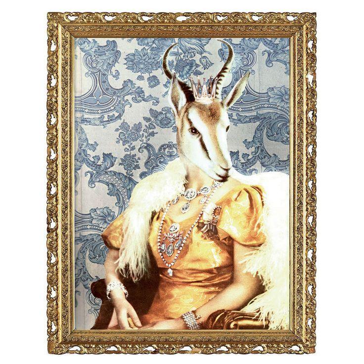 Drottning von Savannen Poster - Lisa Bengtsson