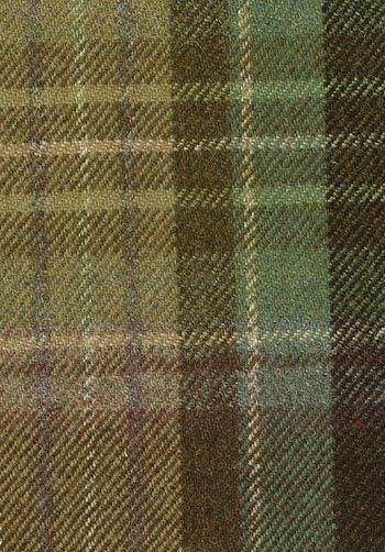 Lomond Tartan Fabric Sage, green, purple and beige wool tartan £98