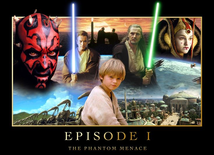 Star Wars Ep.1 Poster