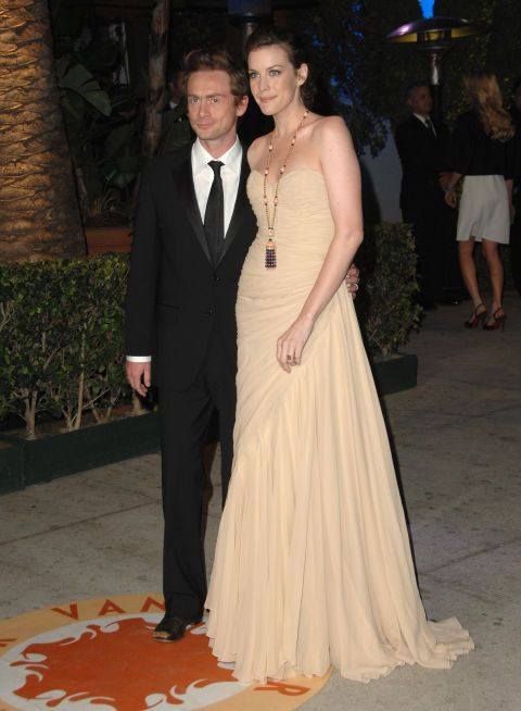 Liv Tyler and Royston Langdon. See 18 more celebrity ladies who are taller than the leading men in their lives.