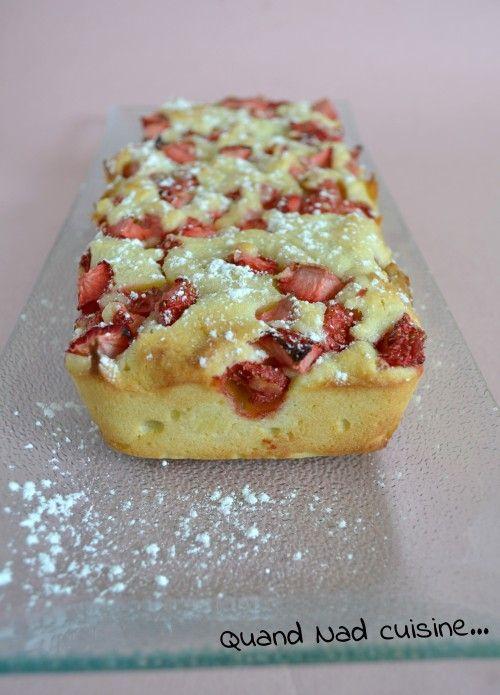 Fondant aux fraises et au mascarpone - Quand Nad cuisine...