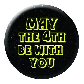 "Quickbadge on Twitter: ""#printed #button #pin #badges #promotionalproducts for any #event #MayThe4thBeWithYou #StarWarsDay #happy4thMay :) https://t.co/AlStM0kMoW"""