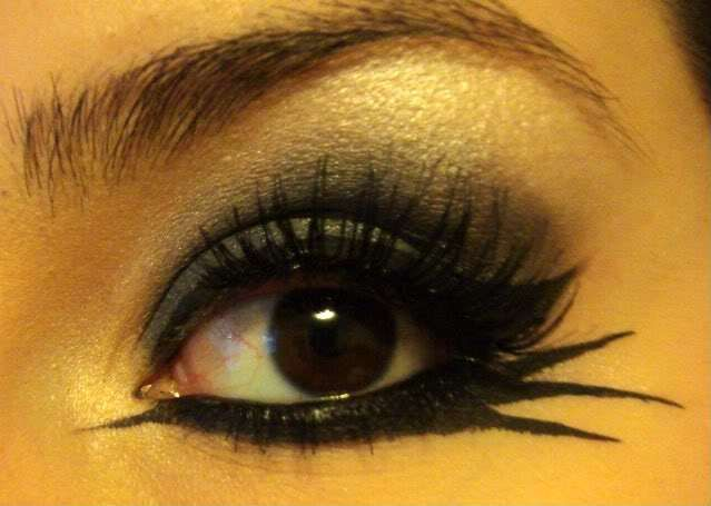 cat eye makeup for halloween - Cat Eyes Makeup For Halloween