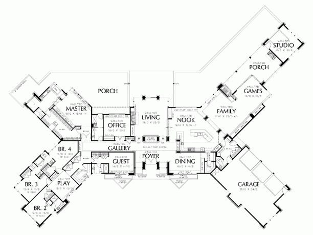 Prairie House Plan With 5884 Square Feet And 5 Bedrooms From Dream Home  Source | House