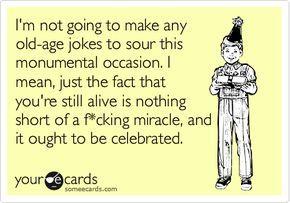 Memes For > Funny Old Man Birthday Jokes