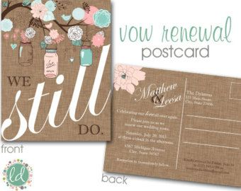 Vow renewal - how cute!  | Let us help you plan YOUR Vow Renewal www.PerfectDayWeddingPlanners.com
