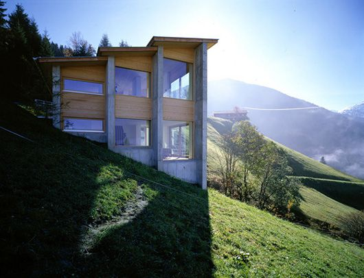 Austrian Exposed House On A Hill | WANKEN   The Art U0026 Design Blog Of Shelby