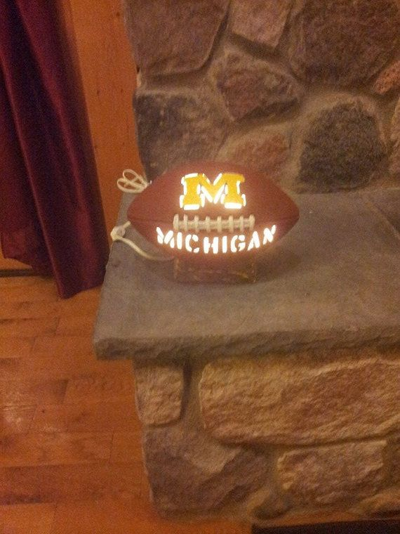 Michigan football light by ThisIMadeForYou on Etsy, $35.00