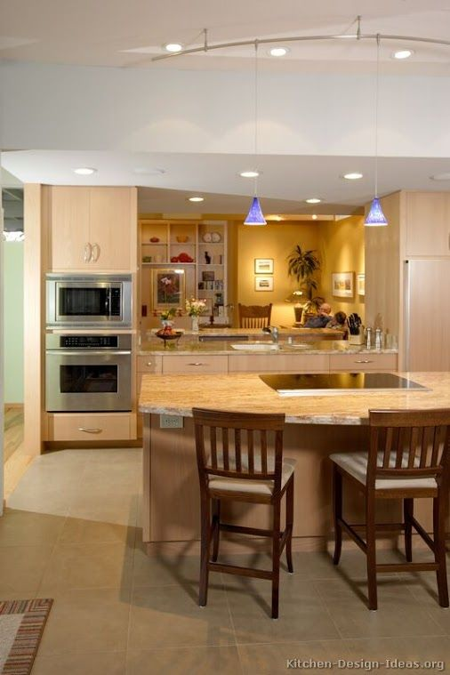 81 Best Light Wood Kitchens Images On Pinterest | Kitchen Ideas, Light Wood  Kitchens And Wood Kitchen Cabinets