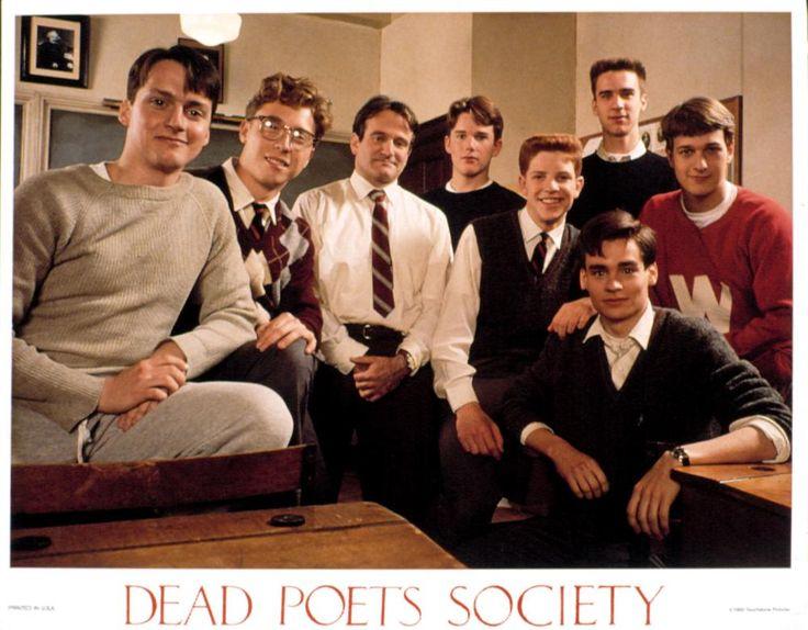 Dead Poets Society (1989) - Gale Hansen, Allelon Ruggiero, Robin Williams, Ethan Hawke, Dylan Kussman, Robert Sean Leonard, James Waterston, Josh Charles