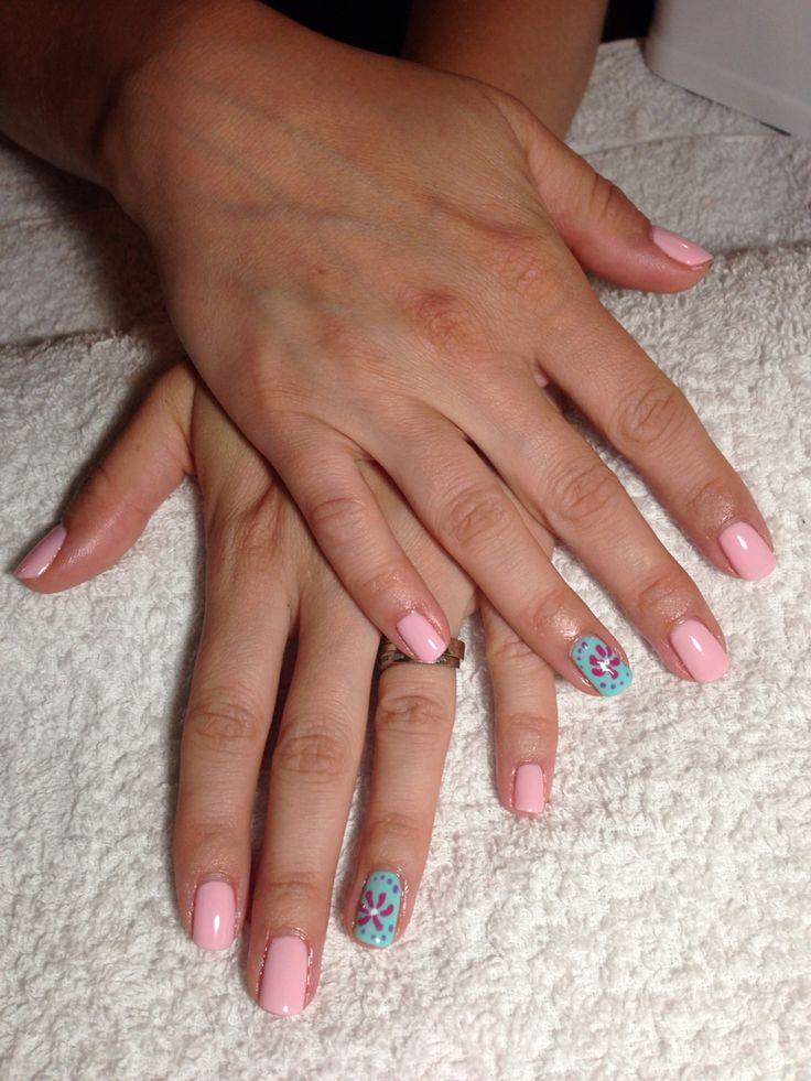 Moniqua has the most beautiful natural nails!