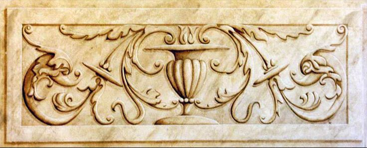 Wood decorative panel