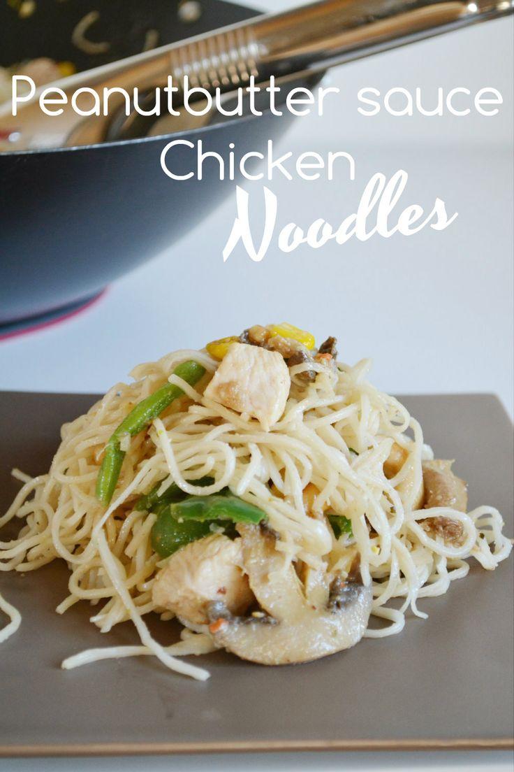 Peanutbutter Chicken Noodles